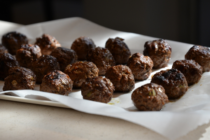 Meatballs with liver