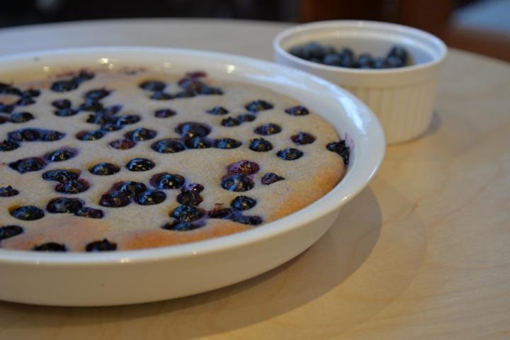 Gluten Free BlueberryClafoutis